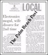 Electronics Mogul, Wife Divorce for 2nd Time